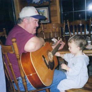 Terry Brewer and Grandson Zack