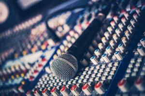 Ron Ackerman, Microphone and Audio Mixer